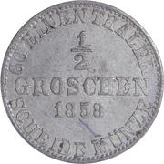 ½ Groschen - Wilhelm – revers