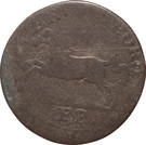 6 pfennig Karl II – avers