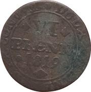 6 pfennig Karl II -  revers