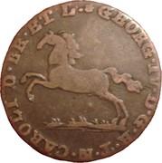 1 pfenning George IV et Charles II – avers