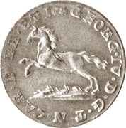 6 pfennige - Karl II – avers