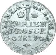 1 Mariengroschen - Karl II – revers
