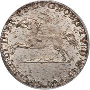 1/12 thaler - George IV Regent – avers