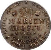 24 mariengroschen / ⅔ taler - Karl II – revers