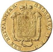 10 thaler Georg IV – avers