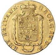5 thaler Georg IV – avers