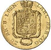2½ thaler Karl II – avers