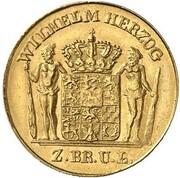 2½ thaler Wilhelm – avers