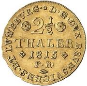 2½ thaler Friedrich Wilhelm – revers