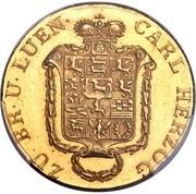 10 thaler Karl II – avers