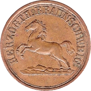 1 Pfennig - Wilhelm – avers