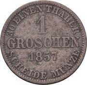 1 Groschen - Wilhelm – revers