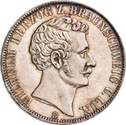 1 Vereinsthaler - Wilhelm – avers