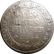 ⅙ Thaler - Charles I – revers