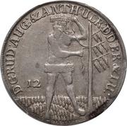 12 Mariengroschen - Rudolf August – avers