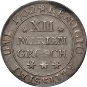 12 Mariengroschen - Rudolf August – revers