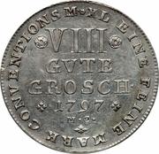 8 Gute Groschen - Karl Wilhelm Ferdinand – revers