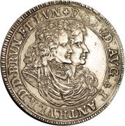 1 Thaler - Rudolph Augustus – avers