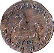 1 pfennig Ludwig Rudolph – avers