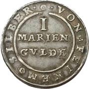 1 Mariengulden - Friedrich Ulrich – revers
