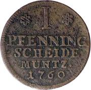 1 Pfennig - Karl I – revers