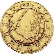 1 Ducat - Christian, Bischof von Halberstadt (Pfaffenfeinddukat) – revers