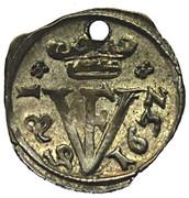 1 pfennig Friedrich Ulrich – avers