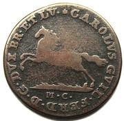 2½ pfennig Karl Wilhelm Ferdinand – avers