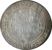12 mariengroschen Karl I. – revers
