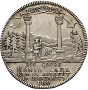 1 thaler Karl I. – revers