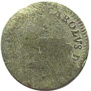6 pfennige Karl I – avers