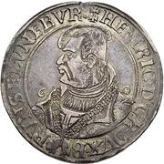 1 thaler Heinrich der Jüngere – avers
