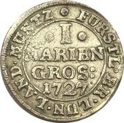 1 Mariengroschen - August Wilhelm – revers