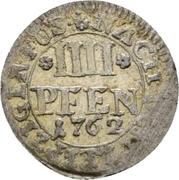 4 pfennig Charles I (Braunschweig) – revers