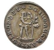 1 mariengroschen Rudolf August et Anton Ulrich – avers
