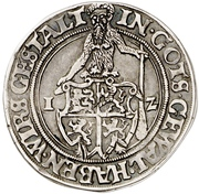 ½ Thaler - Heinrich the younger and Erich the younger – revers
