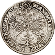 1 Thaler - Heinrich the younger – revers