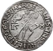 ¼ Thaler - Julius (1/4 Lichttaler) – revers