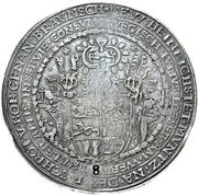 8 Thaler - Julius (Juliuslöser) – revers