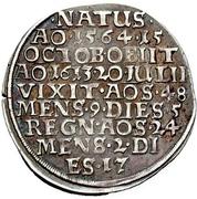 ¼ Thaler - Julius (Death) – revers