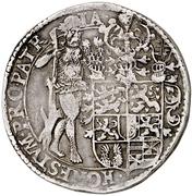1 Thaler - Heinrich Julius – revers