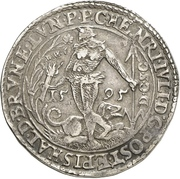 1 Thaler - Heinrich Julius (Rebellentaler) – avers