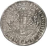 1 Thaler - Heinrich Julius (Death) – avers