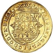1 Goldgulden - Friedrich ulrich – avers