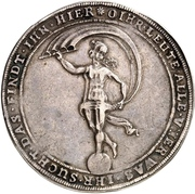 1¼ Thaler - Friedrich Ulrich (Glückslöser; Ausbeute) – revers