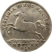 12 mariengroschen Ludwig Rudolf – avers