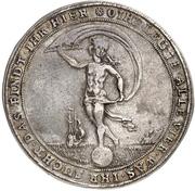 1¼ thaler Friedrich Ulrich (Glückslöser; Ausbeute) – revers