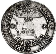 1 Thaler - August (Glockentaler) – revers