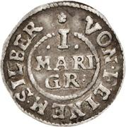 1 Mariengroschen - August – revers