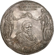 6 thaler August II (88ème anniversaire de August II) – avers